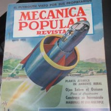 Coches: REVISTA POPULAR MECANICA JULIO 1956. Lote 53481640