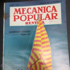 Coches: REVISTA POPULAR MECANICA ENERO 1952. Lote 53482265
