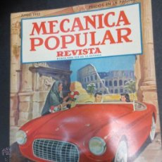 Coches: REVISTA POPULAR MECANICA JUNIO 1952. Lote 53482297