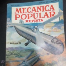 Coches: REVISTA POPULAR MECANICA MAYO 1952. Lote 53482323