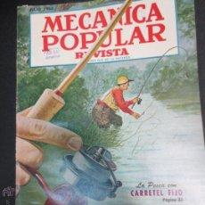 Coches: REVISTA POPULAR MECANICA JULIO 1953. Lote 53482393
