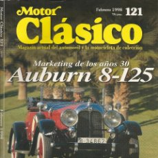 Coches: MOTOR CLÁSICO Nº121 FEBRERO 1998. Lote 53532376