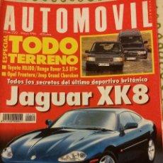REVISTA AUTOMOVIL Nº 220 ESPECIAL TT PEUGEOT 106 COCHES CLASICOS FORMULA 1 RALLYES