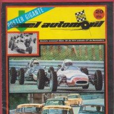 Coches: EL AUTOMOVIL Nº 38 NOVIEMBRE 1971 NOVEDADES SEAT EDICIONES GRÁFICAS TORROBA 34 PÁGINAS. Lote 53799673