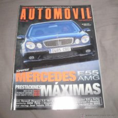 Coches: REVISTA AUTOMÓVIL. Nº 300, ENERO 2003, MERCEDES E55 AMG. NUEVA. Lote 53874690