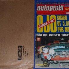 Coches: AUTOPISTA 681 - FEBRERO 1972. Lote 53895687