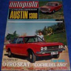 Coches: AUTOPISTA 638 - MAYO 1971. Lote 53895733