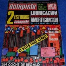 Coches: AUTOPISTA 628 - FEBRERO 1971. Lote 53895749