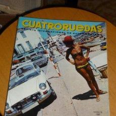 Coches: REVISTA CUATRORUEDAS AGOSTO 1967 FORD CORTINA GT. Lote 53986309