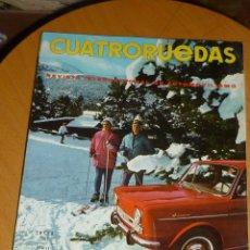 Coches: REVISTA CUATRORUEDAS ENERO 1967 . Lote 53986314