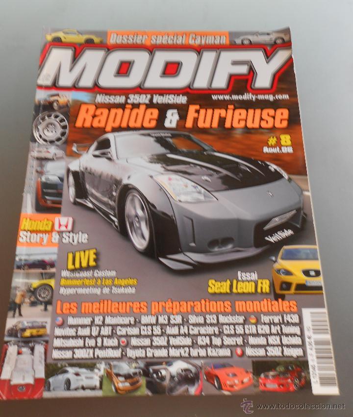 MODIFY (Coches y Motocicletas Antiguas y Clásicas - Revistas de Coches)