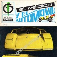 Coches: REVISTA DE 1970 NUMERO 8, EL MEDICO Y EL AUTOMOVIL. Lote 54324831
