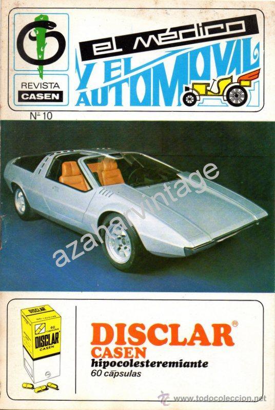 REVISTA DE 1971 NUMERO 10, EL MEDICO Y EL AUTOMOVIL (Coches y Motocicletas Antiguas y Clásicas - Revistas de Coches)