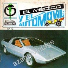 Coches: REVISTA DE 1971 NUMERO 10, EL MEDICO Y EL AUTOMOVIL. Lote 66083831