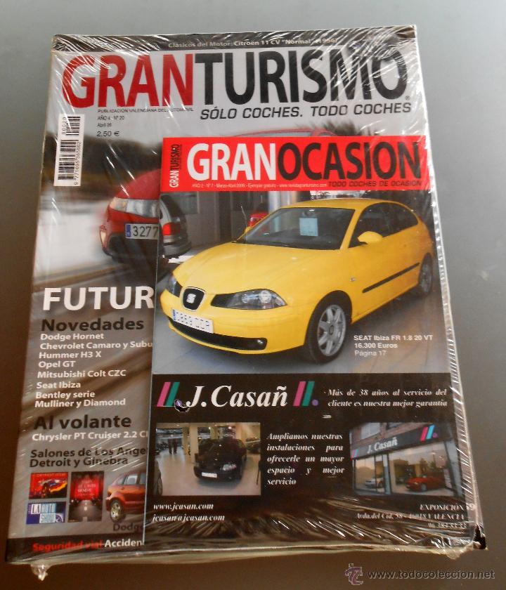 GRAN TURISMO ABRIL 2006 (Coches y Motocicletas Antiguas y Clásicas - Revistas de Coches)