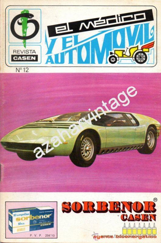REVISTA DE 1971 NUMERO 12, EL MEDICO Y EL AUTOMOVIL (Coches y Motocicletas Antiguas y Clásicas - Revistas de Coches)