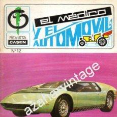 Coches: REVISTA DE 1971 NUMERO 12, EL MEDICO Y EL AUTOMOVIL. Lote 54460210