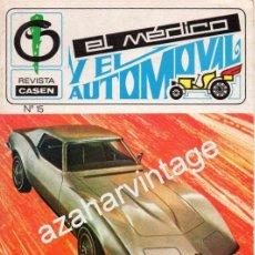 Coches: REVISTA DE 1971 NUMERO 15, EL MEDICO Y EL AUTOMOVIL. Lote 54460253