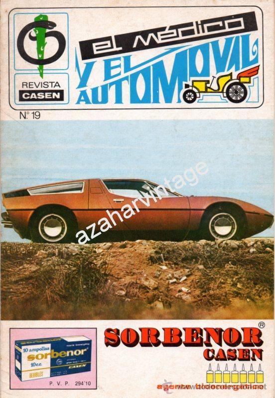 REVISTA DE 1971 NUMERO 19, EL MEDICO Y EL AUTOMOVIL (Coches y Motocicletas Antiguas y Clásicas - Revistas de Coches)