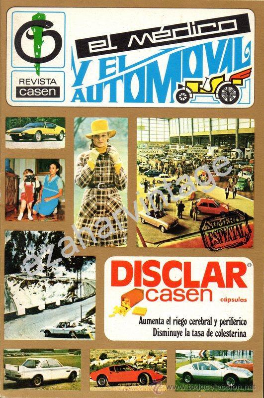REVISTA ESPECIAL Nº 3, EL MEDICO Y EL AUTOMOVIL (Coches y Motocicletas Antiguas y Clásicas - Revistas de Coches)