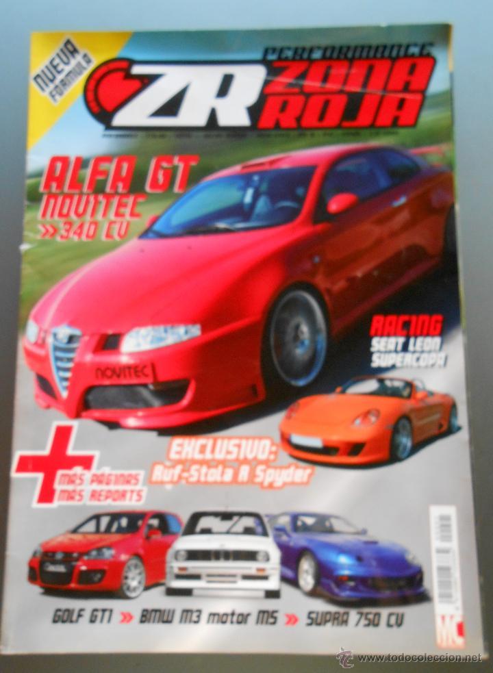 ZR ZONA ROJA Nº 41 (Coches y Motocicletas Antiguas y Clásicas - Revistas de Coches)