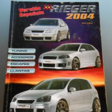 Coches: RIEGER - CATALOGO TUNING. Lote 54565366