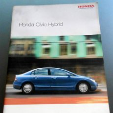 Coches: CATALOGO HONDA CIVIC 2006. Lote 54582876