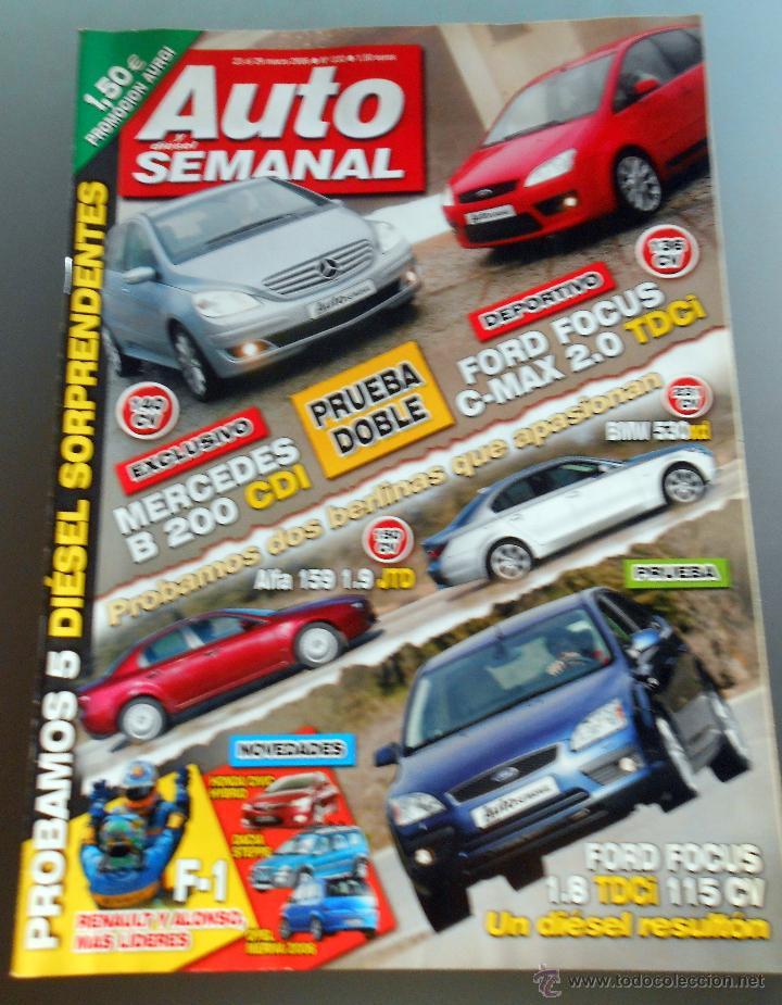 AUTO SEMANAL 2006 (Coches y Motocicletas Antiguas y Clásicas - Revistas de Coches)
