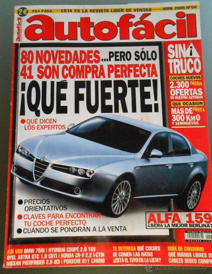AUTO FACIL 2005 (Coches y Motocicletas Antiguas y Clásicas - Revistas de Coches)