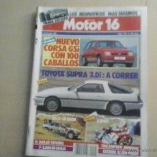 Coches: MOTOR 16 - NUMERO 248 -1988. Lote 54641601