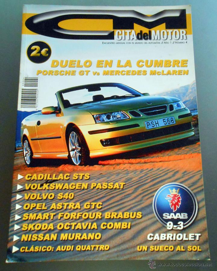 REVISTA -CITA DEL MOTOR (Coches y Motocicletas Antiguas y Clásicas - Revistas de Coches)