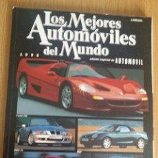 Coches: REVISTAS LOS MEJORES AUTOMÓVILES DEL MUNDO 1996 Y 1997. Lote 54690619