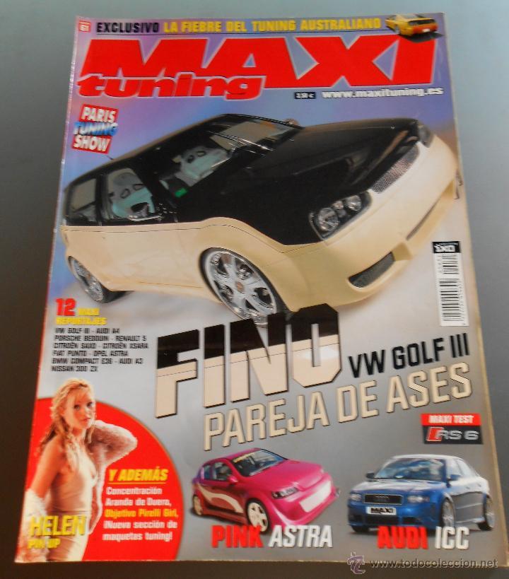 MAXI TUNING Nº 61 (Coches y Motocicletas Antiguas y Clásicas - Revistas de Coches)