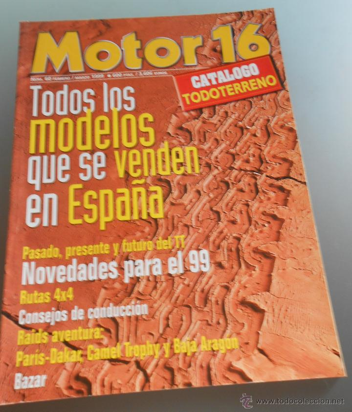 MOTOR 16 1999 (Coches y Motocicletas Antiguas y Clásicas - Revistas de Coches)