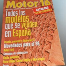 Coches: MOTOR 16 1999. Lote 54708839