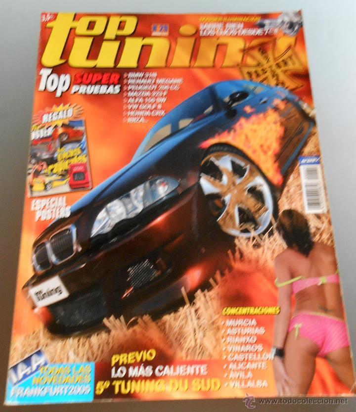 TOP TUNING Nº 29 (Coches y Motocicletas Antiguas y Clásicas - Revistas de Coches)
