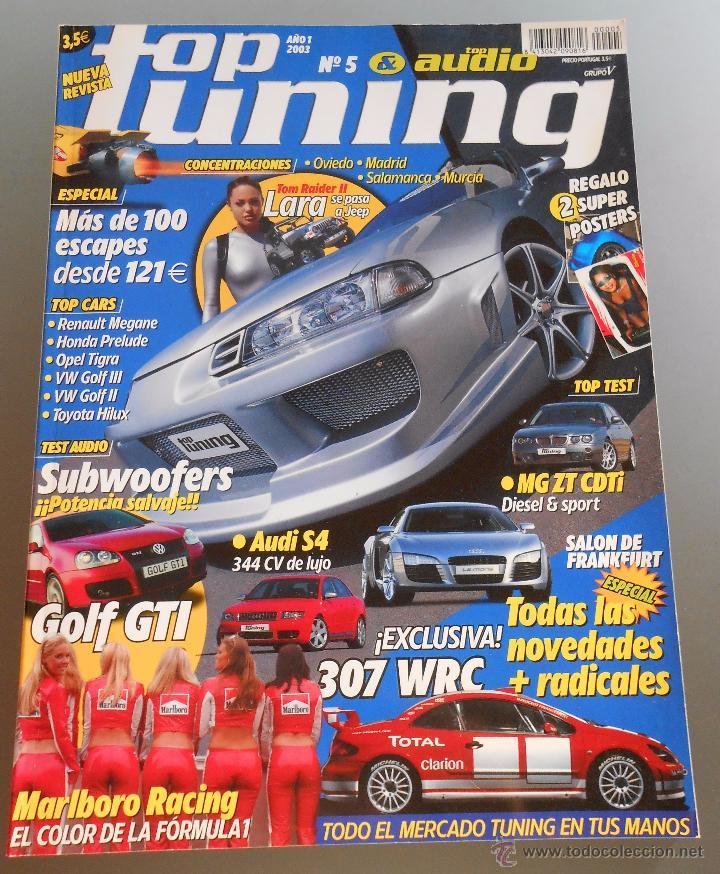 TOP TUNING Nº 5 (Coches y Motocicletas Antiguas y Clásicas - Revistas de Coches)