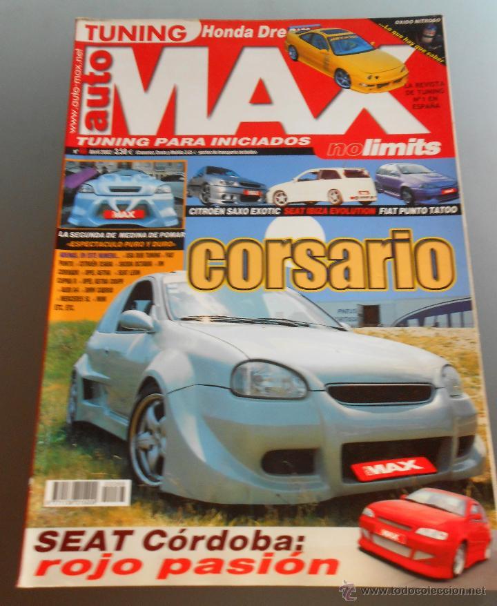 AUTO MAX 2002 (Coches y Motocicletas Antiguas y Clásicas - Revistas de Coches)