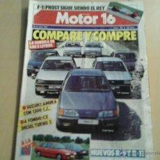Coches: MOTOR 16 - NUMERO 182 -1987. Lote 54726818