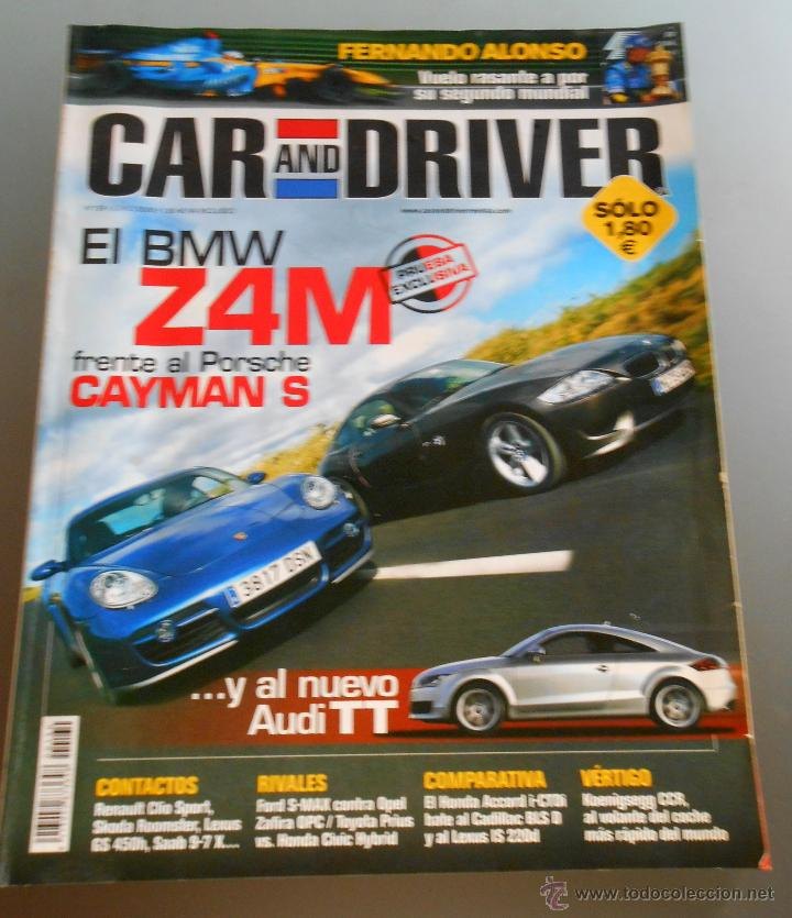CAR AND DRIVER 2006 (Coches y Motocicletas Antiguas y Clásicas - Revistas de Coches)