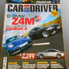 Coches: CAR AND DRIVER 2006. Lote 54744514