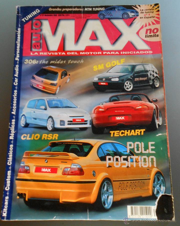 AUTO MAX 1999 (Coches y Motocicletas Antiguas y Clásicas - Revistas de Coches)