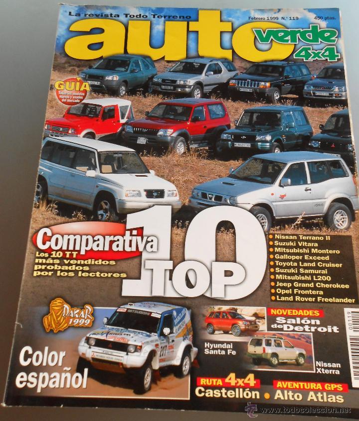 AUTO VERDE 4X4 1999 (Coches y Motocicletas Antiguas y Clásicas - Revistas de Coches)