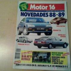 Coches: MOTOR 16 - NUMERO 239 -1988. Lote 54793184