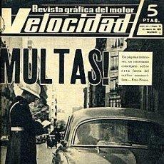 Carros: VELOCIDAD 70 ENERO 1963 . Lote 55145865