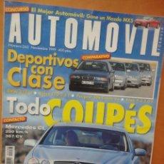 Coches: REVISTA AUTOMOVIL NUMERO 262 NOVIEMBRE 2002. Lote 55329790