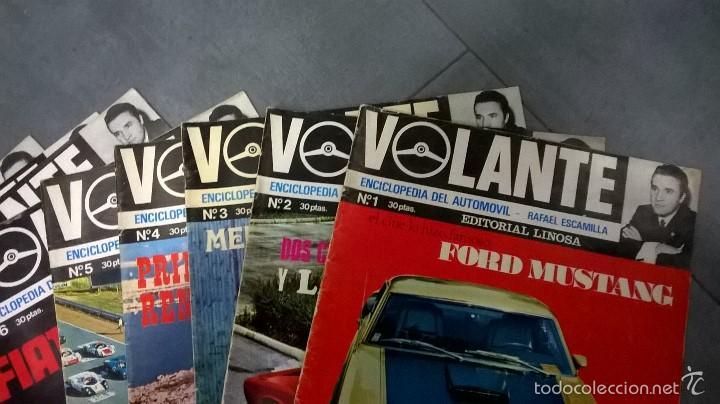 Coches: VOLANTE, ENCICLOPEDIA DEL AUTOMÓVIL-RAFAEL ESCAMILLA, NÚMEROS DEL 1 AL 10, 12 y 14 (1969) - Foto 2 - 55572180