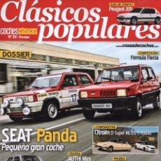 Coches: CLASICOS POPULARES N. 20 - EN PORTADA: SEAT PANDA (NUEVA). Lote 179015793