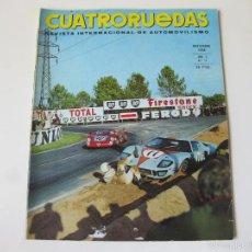 Coches: REVISTA INTERNACIONAL DE AUTOMOVILISMO CUATRORUEDAS - AÑO V - Nº 11 - NOVIEMBRE 1968 - FASCICULO 59. Lote 56201923