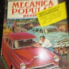 Coches: REVISTA POPULAR MECANICA ABRIL 1953. Lote 56324174